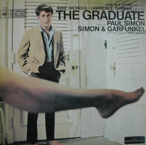 VINYL33T simon end garfunkel BO the graduate 1968 BIEM