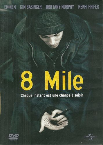DVD 8 mile eminem