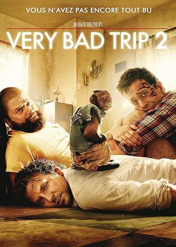 DVD very bad trip 2 Todd Philips 2011