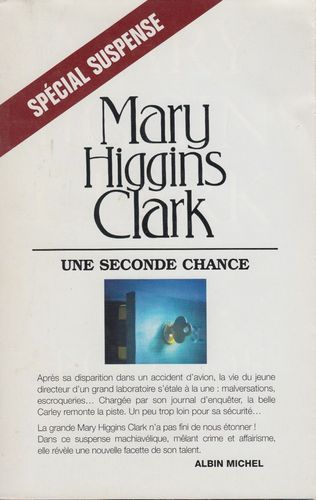 Mary Higgins Clark une seconde chance