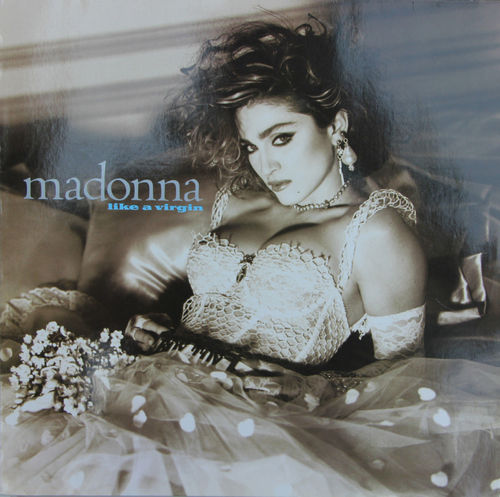 VINYL33T Madonna like virgin 1984