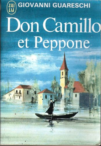 LIVRE giovanni guareschi don camillo et peppone 1973 j'ai lu N°130