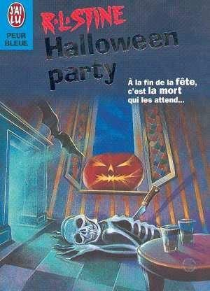 LIVRE R.L.Stine halloween party 1997 j'ai lu N°4622