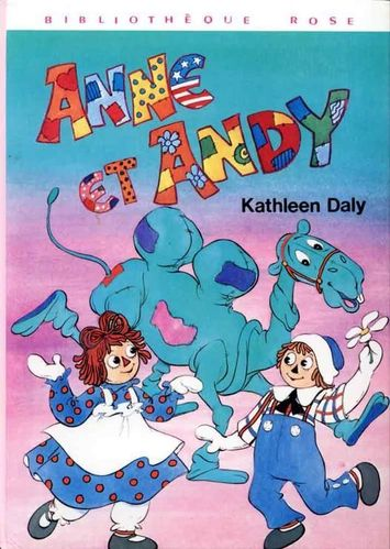 LIVRE kathleen daly anne et andy 1978