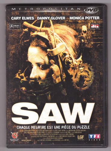 DVD saw cary elwes 2005 James Wan