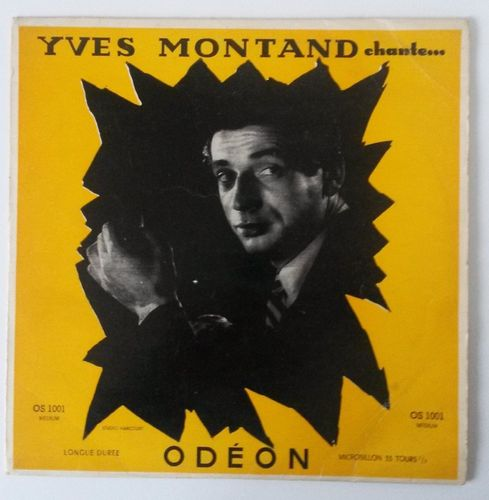 VINYL 33 T yves montand chante 1953