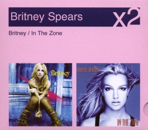 CD britney spears x2 britney-in the zone 2007