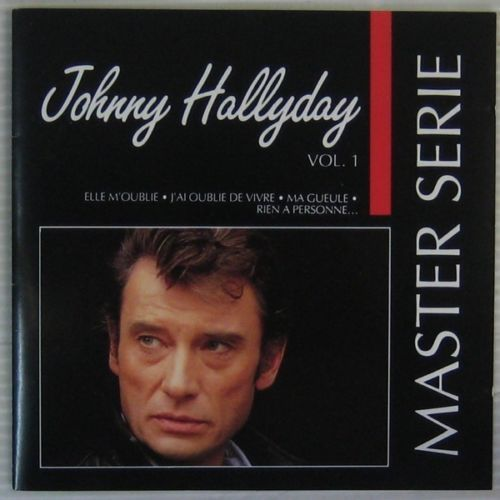 CD Johnny Hallyday master série vol 1 1991