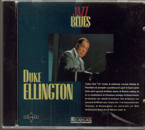 CD duke ellington jazz and blues  1995