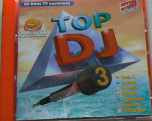 CD top dj vol 3 fun radio 1994
