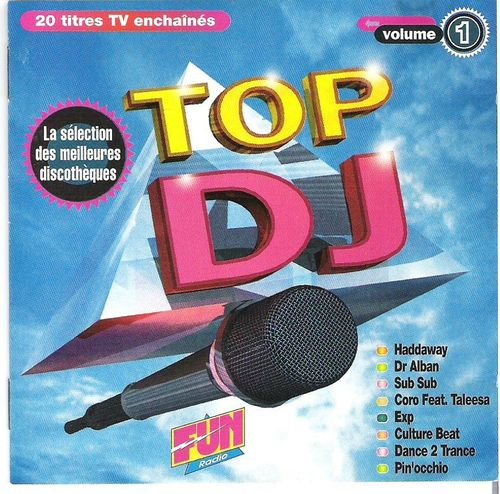 CD top dj vol 1 fun radio 1993