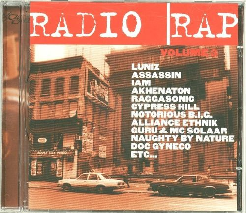 CD radio rap vol 3 1996