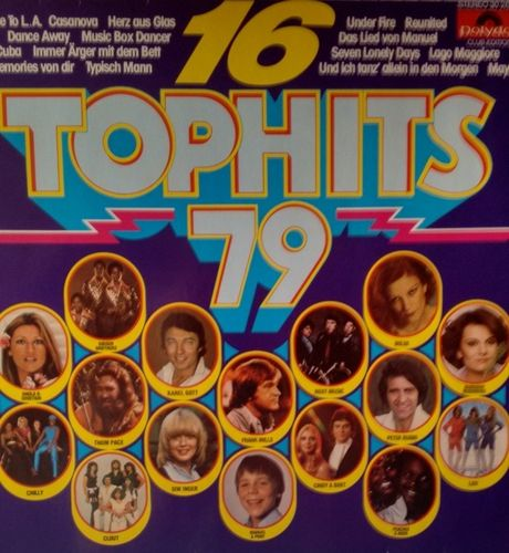 VINYL 33 T 16 top hits 79 polydor