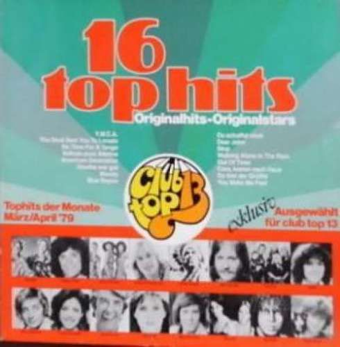 VINYL 33 T 16 top hits marz april 79 club top 13