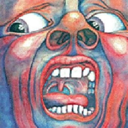 VINYL 33T  king crimson in the court of the crimson king 1969