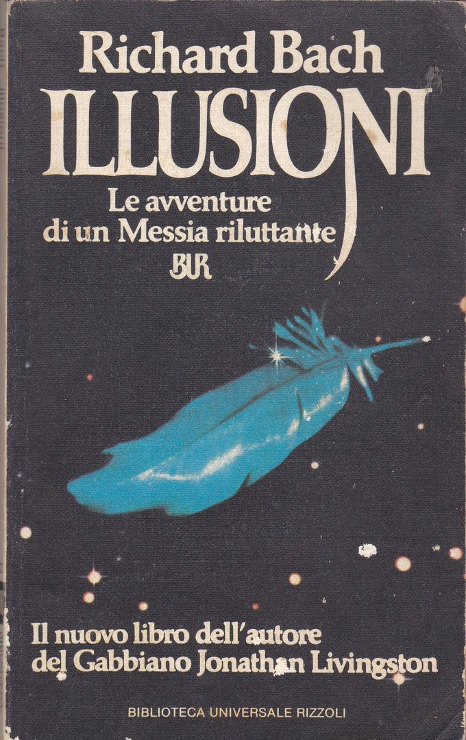 LIVRE richard bach illusioni  (en italien ) 1979
