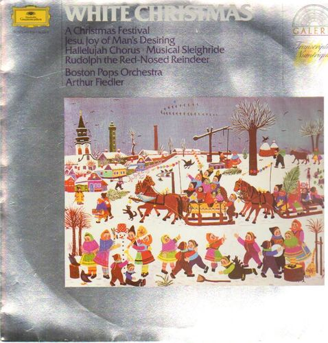 VINYL 33T boston pops orchestra arthur fiedler white christmas 1976