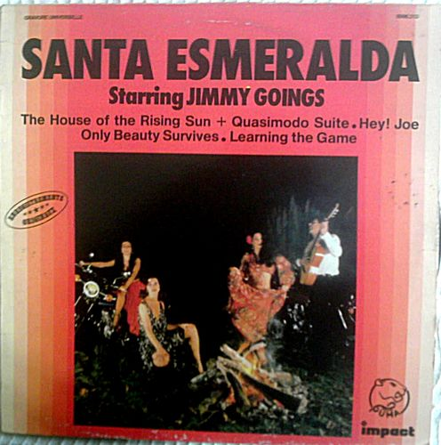 VINYL33 T santa esmeralda starring jimmy goings impact 1978