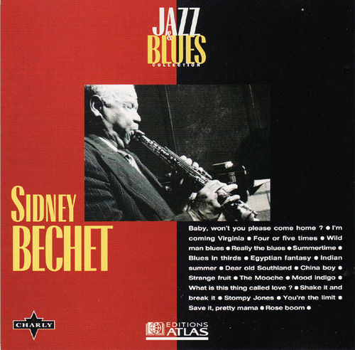 CD sydney bechet jazz and blues  1995