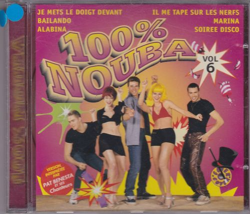 CD pat benesta 100% nouba vol 6