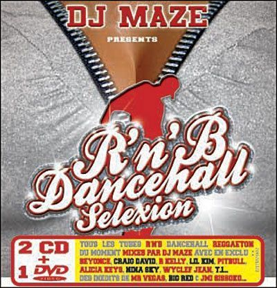 CD dj maze r'n'b dance hall sélection (+dvd) 2006