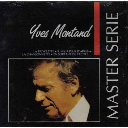 CD Yves montand master série 1991