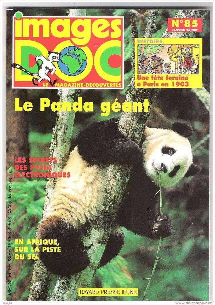 Livre Magazine Images Doc N 85 1996