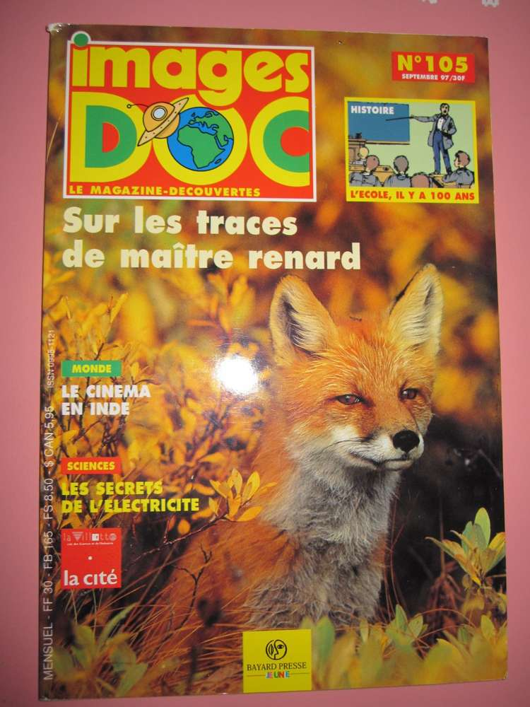 Livre Magazine Images Doc N 105 1997