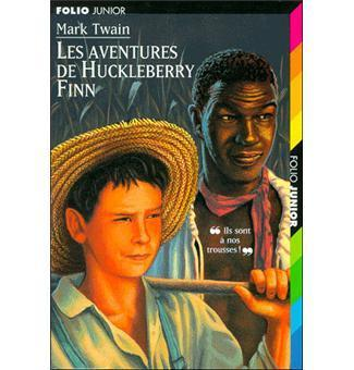 LIVRE Mark Twain les aventures de huckleberry finn n°230 Folio junior