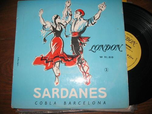 VINYL 33 T cobla de barcelona sardanes 2 vol2 london
