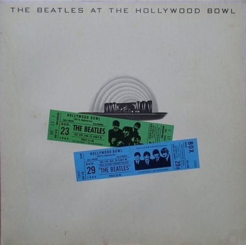 VINYL33T the beatles live at the holliwood bowl 1977