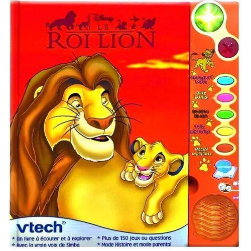 Livre Le Roi Lion Disney Vtech