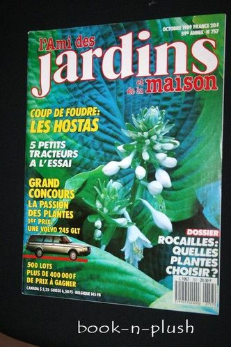 Vente livres jardinage vente livres jardin vente livres jardiniers vente livres florals art - L ami des jardins et de la maison ...