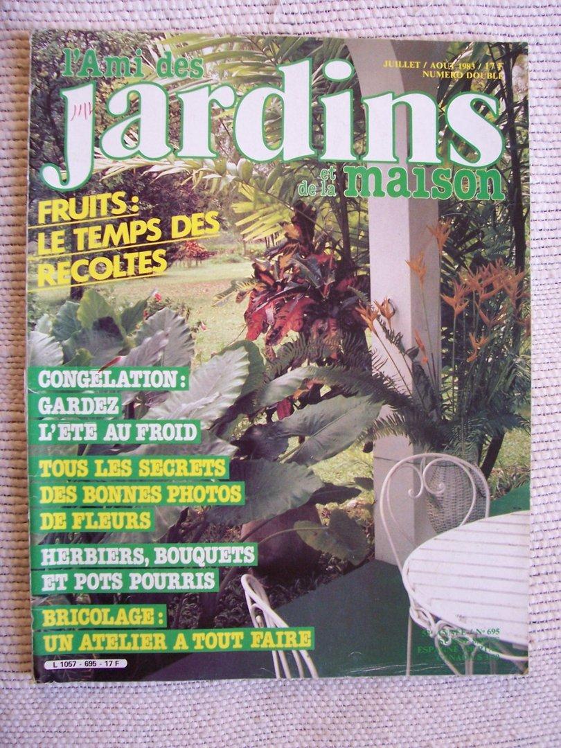 Vente livre revue l 39 ami des jardins et de la maison n 695 1983 revue magazine achat livres - L ami des jardins et de la maison ...