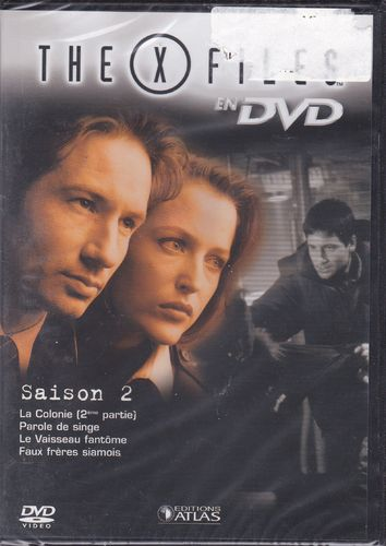 DVD the x files saison 2 vol 11 série tv de science fiction 2000(neuf emballé)