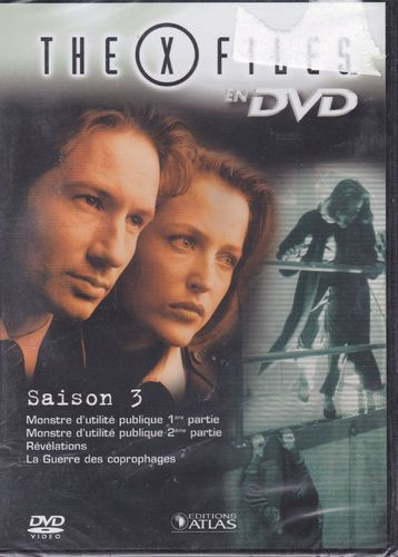 DVD the x files saison 3 vol 16 série tv de science fiction 2000(neuf emballé)