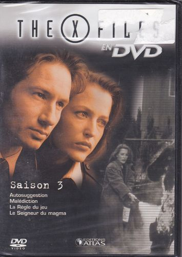 DVD the x files saison 3 vol 18 série tv de science fiction 2000(neuf emballé)
