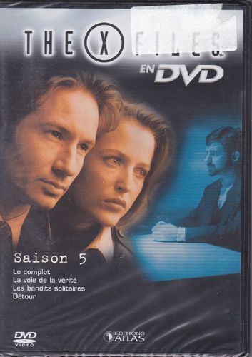 DVD the x files saison 5 vol 26 série tv de science fiction 2000(neuf emballé)