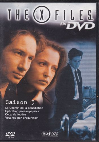 DVD the x files saison 3 vol 14 série tv de science fiction 2000