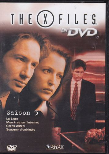 DVD the x files saison 3 vol 15 série tv de science fiction 2000