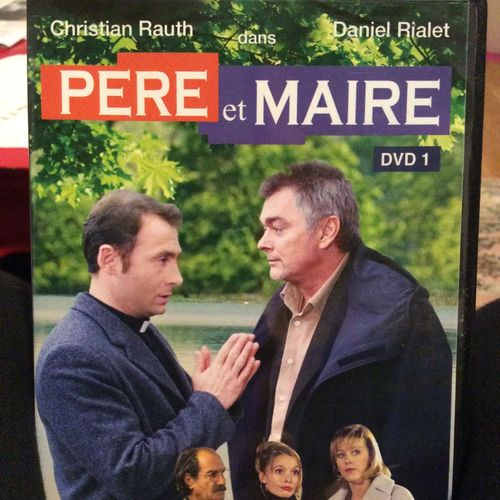 DVD SERIE pere et maire dvd 1 christian rauth,daniel rialet 2001