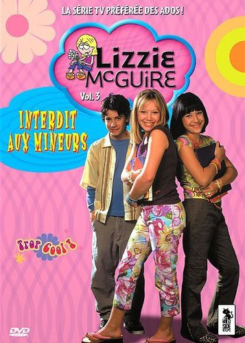 DVD SERIE lizzie mc guire vol 3 -2005