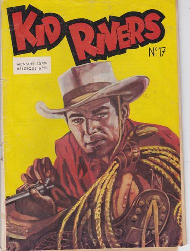 BD kid rivers N°17 bd western 1955 RARE