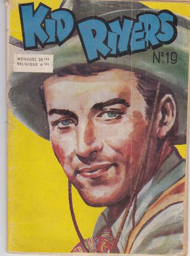 BD kid rivers N°19 bd western 1955 RARE