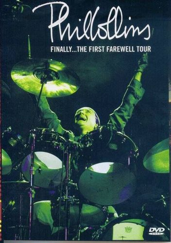 DVD phil collins finally the first farewell tour 2004