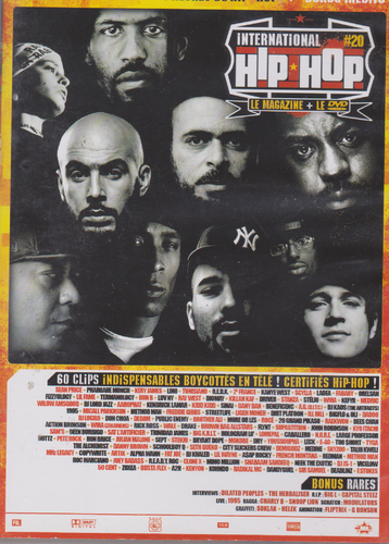 DVD hip hop international 60 clips indispensables édition limitée 2008