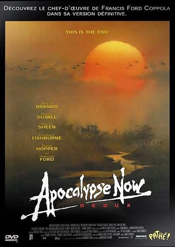 DVD apocalypse now redux francis ford coppola 2000