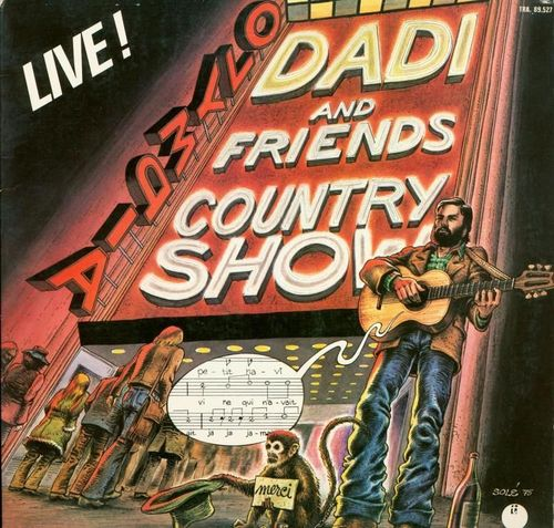 VINYL 33 T dadi and friends country show olympia live 1975