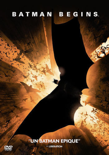 DVD batman begins christopher nolan 2005