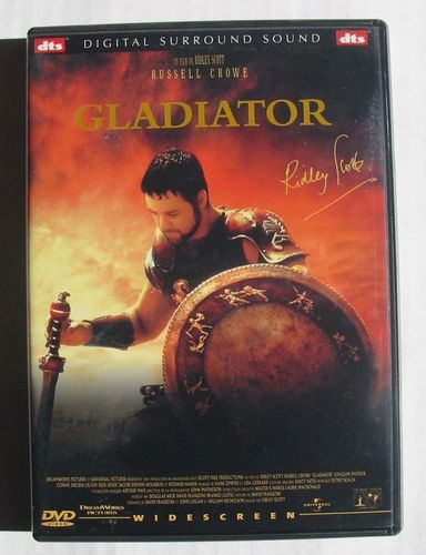 DVD gladiator ridley scott 2000
